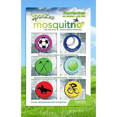 Mosquitno SpotZzz Sticker Sports - Mosquitno - 1 - Pack