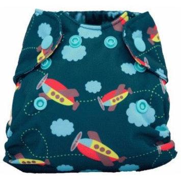 Smart Bottoms Born Smart All in One Baby Diaper, Aviator
