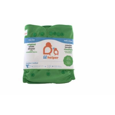 Bamboo Cloth Diapers - Solids (Green)