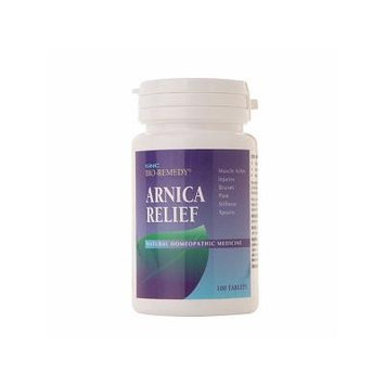 GNC Bio Remedy Arnica Relief Natural Homeopathic Medicine, Tab 100