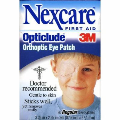 Nexcare Opticlude Orthoptic Eye Patches, Regular Size, 3.18