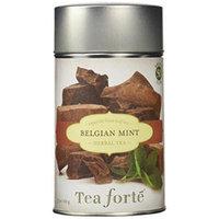 Tea Forte BELGIAN MINT Loose Leaf Herbal Tea, 3.5 Ounce Tea Tin