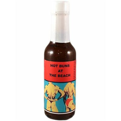 Hot Buns At The Beach Hot Sauce (6 Pack)