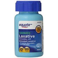 Maximum Strength Laxative, Sennosides Stimulant Laxative, 25mg, 90ct, By Equate, Compare to Maximum Strength Ex-Lax