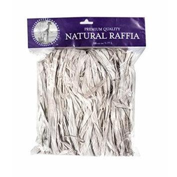 SuperMoss (30602) Raffia, Bleached White, 2oz