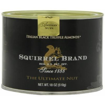 Squirrel Brand Italian Black Truffle Almonds, 18-Ounce