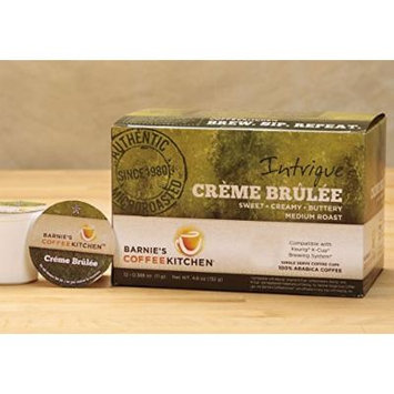 Barnie's CoffeeKitchen Creme Brulee Single Serve Coffee Cups (24ct)