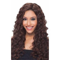 INVISIBLE PART 20'' LOOSE DEEP 5PCS - Que by Milky Way Fourbulous Human Hair Mastermix #1B Off Black