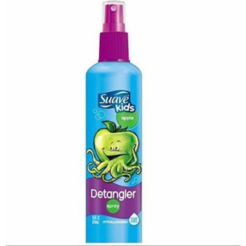 (2 Pack) Suave Kids Apple Detangler Spray, 10.5 Fl. Oz.