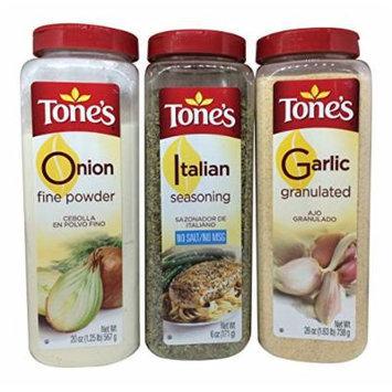 Onion Powder, Granulated Garlic & Italian Seasoning Bundle