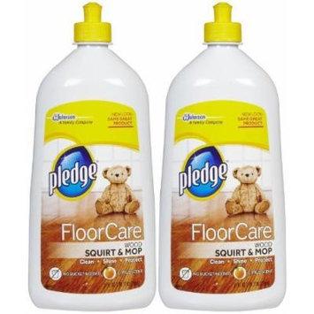 Pledge Wood Floor Cleaner, 27 oz-2 pack