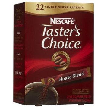 Nescafe Taster's Choice Instant Coffee Single Sticks - House Blend - 1.55 oz - 22 ct