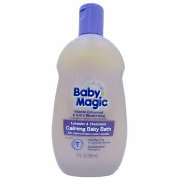 Baby Magic Lavender & Chamomile Calming Baby Bath Hair & Body Wash 9 FL OZ