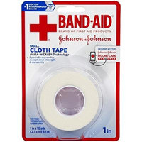 Band-Aid Small Cloth Tape, 1 x 10 Yard Pack of 3