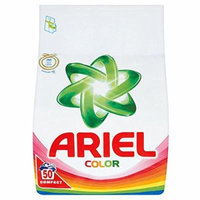 Ariel Color Compact H.E. Laundry Powder [Authentic European] - 150 Wash Loads (3 x 3.5kg Compact)