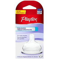 Playtex Full-Sized Nipple, Fast Flow, 4-Count
