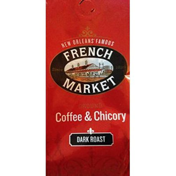 French Market Coffee & Chicory 12 Oz Bag - Pack of 3