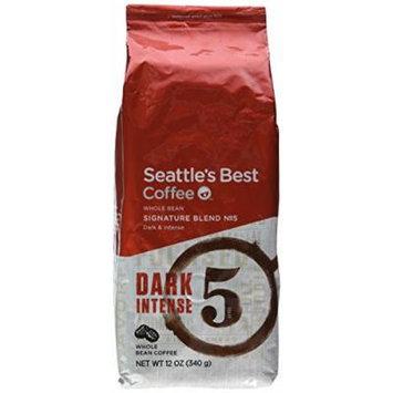 Seattle's Best Coffee 12 Oz Whole Bean Coffee Level 5 Dark Intense