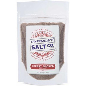 Cherrywood Smoked Sea Salt (5oz Pouch - Fine Grain)