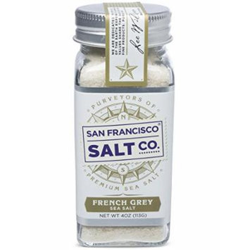 4 Oz Glass Shaker - French Grey Salt