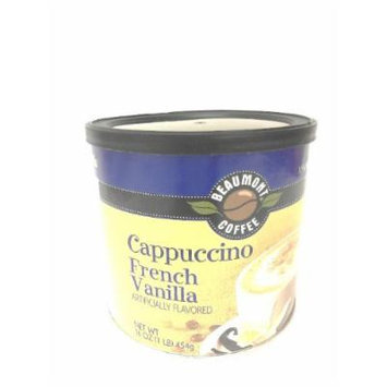 Beaumont Cappuccino, French Vanilla, 16-Ounce