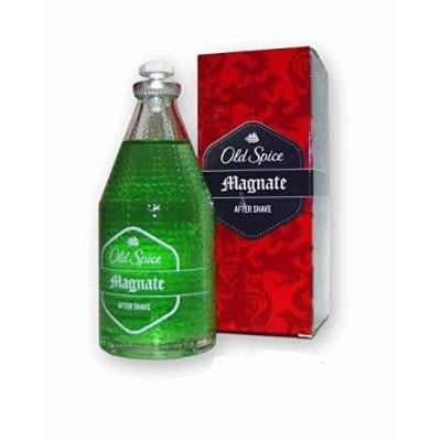 Old Spice Magnate Aftershave - 100ml Glass