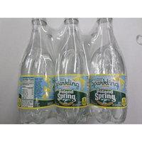Poland Spring Sparkling Spring Water,Lemon 16.9 fl oz. (Pack of 6)