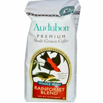Audubon Premium Coffee BCA36915 Rainforest Blend Coffee, 6 x 12 oz