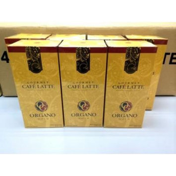7 Boxes Organo Gold Gourmet Cafe Latte with Ganoderma Lucidum Extract + Free 7 Sachets Ganocafe 3 in 1 Coffee