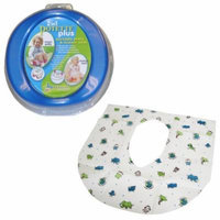 Kalencom 2-in-1 Potette Plus with Summer Infant Potty Protectors, Blue
