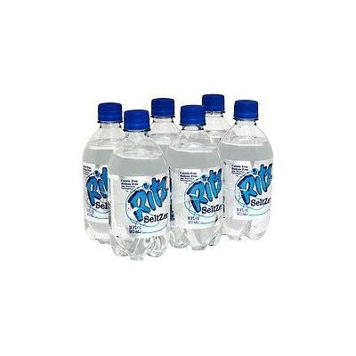 RITZ SELTZER WATER CARBONATED 6 PK 16 OZ BOTTLES