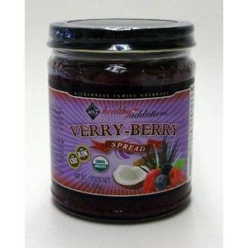 Coconut Spread, Verry Berry, Raw, Certified Organic, 10 Oz.