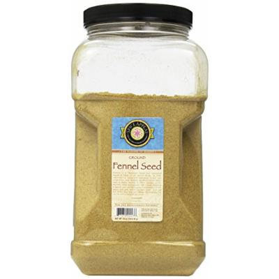 Spice Appeal Fennel Seed Ground, 64-Ounce Jar