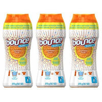 Bounce Bursts In-Wash Scent Booster, Outdoor Fresh, 9.7 Oz (Pack of 3)