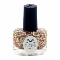 Ciate London Mini Paint Pot Nail Polish and Effects for Women, Putting On The Ritz/Rose Gold Glitter, 0.17 Ounce