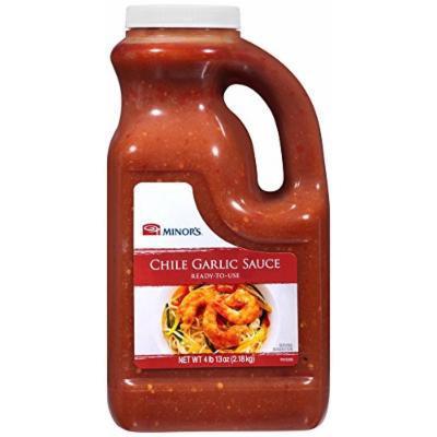 Minor's Sauce, Chile Garlic, 77 oz