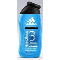 Adidas Hair and Body 3 - After Sport Shower Gel & Shampoo 8.4 Fl Oz - Developed with Athletes