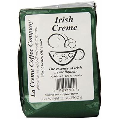 La Crema Coffee Irish Creme, 12-Ounce Packages (Pack of 2)