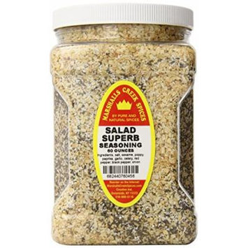 Marshalls Creek Spices Family Size Salad Superb Seasoning (Compare to Salad Supreme), 60 Ounce