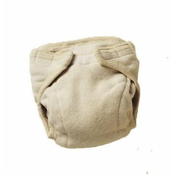 Engel Organic Cotton Fitted Diaper-Natural-74/80 (6-12 mo)