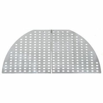 Mr. Bar-B-Q Folding Stainless Steel Large Kettle Topper - Part #507295