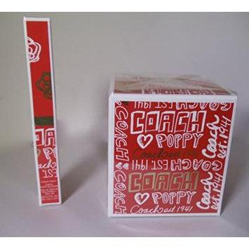 1) Coach Poppy Eau De Parfum Spray 3.4 ~ AND ~ 1) Coach 2 x 0.17 oz Eau de Parfum Dual Rollerball Coach Poppy / Coach Poppy Blossom
