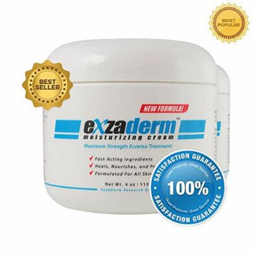 Exzaderm (2 Pack) - Eczema Remedy Moisturizing Cream - Over the Counter Eczema Treatment for Fast Relief