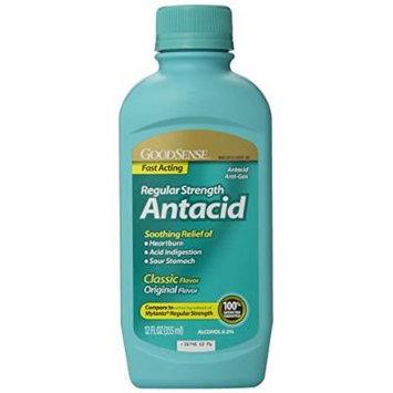 GoodSense Regular Strength Antacid, 12 Fluid Ounce