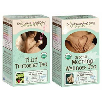 Earth Mama Angel Baby Organic Third Trimester & Morning Wellness Tea Set