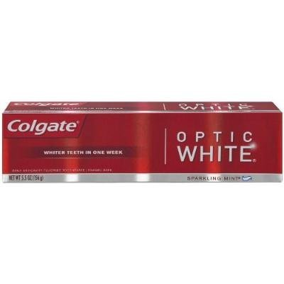 Colgate Optic White Toothpaste, 5.5 Ounce (Pack of 3)