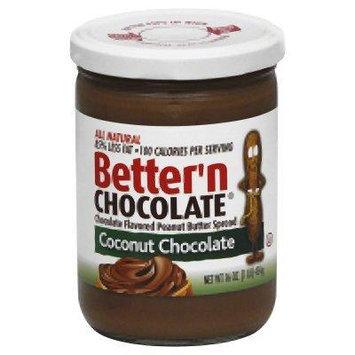 Better N Peanut Butter Spread Pnut Cocont Choc