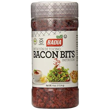 Badia Bacon Bits Imitation, 4 Ounce (Pack of 12)