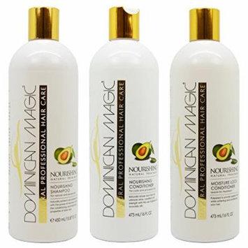 Dominican Magic Nourishing Shampoo & Conditioner & Moisture Lock Leave on