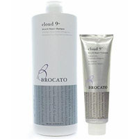 Brocato Cloud 9 Miracle Repair Shampoo Liter (32 oz) & Treatment (5.25 oz) Set